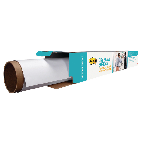 Post-it Super Sticky White Dry Erase Film Roll 1.219 x 2.438mm DEF8X4-EU | 3M93203