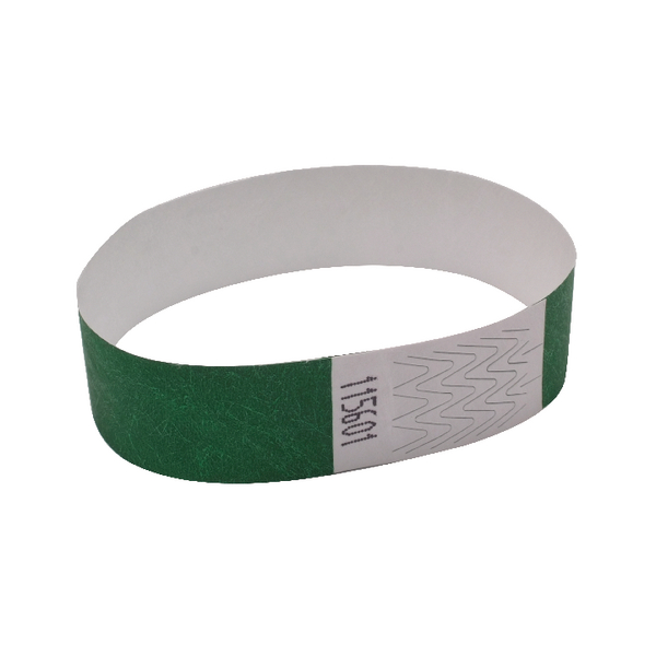 Announce Wrist Bands 19mm Green AA01834 | AA01834