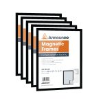 Announce Magnetic Frames A3 Black Pack of 5 AA01850 | AA01850