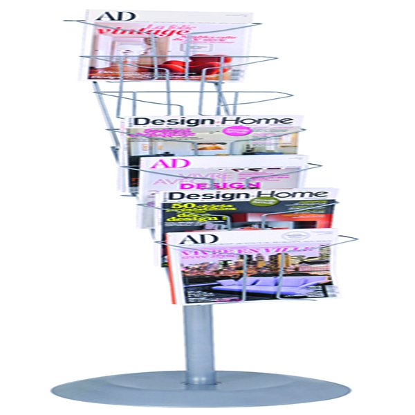 Alba Floor-Standing 7-Pocket Literature/Magazine Display DD7S | ALB00768