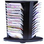 Alba A4 Rotary 39 Compartment Mobile Display Unit Carousel DDTOWER | ALB01167