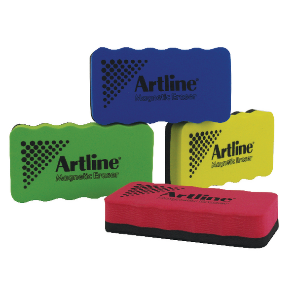 Artline Assorted Smiley Whiteboard Erasers (Pack of 4) ERT-mmS-GB4 | AR00357