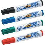 Bic Velleda 1701 Bullet Tip Assorted Whiteboard Marker (Pack of 4) 1199001704 | BC03504