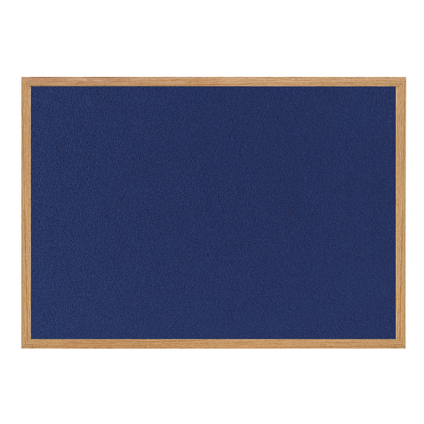 Bi-Office Earth-it Felt Notice Board 900x600mm Blue RFB0743233 | BQ04348