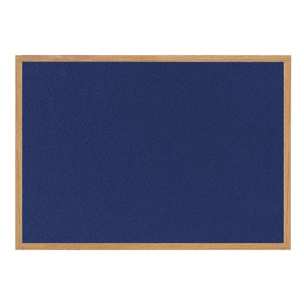 Bi-Office Earth-it Felt Notice Board 900x600mm Blue RFB0743233 | BQ04348