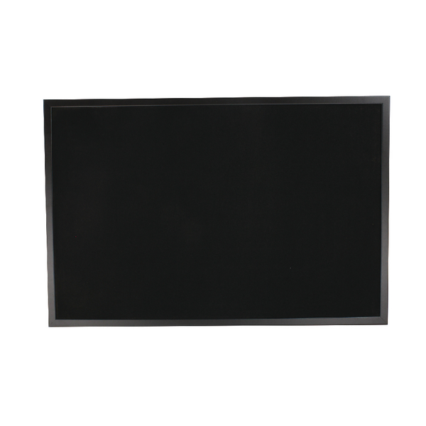 Bi-Office Black Softouch Surface Notice Board FB0736169 | BQ04361