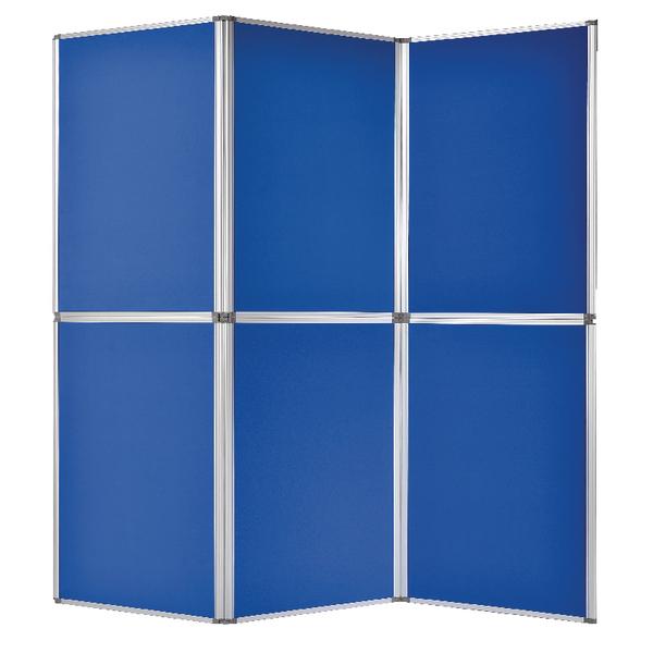 Bi-Office 6 Panel Display Kit Blue DSP340116 | BQ10341
