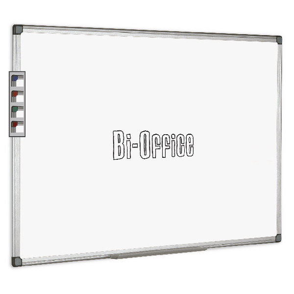 Bi-Office Aluminium Trim Drywipe Board 2400x1200mm MB0312170 | BQ11217