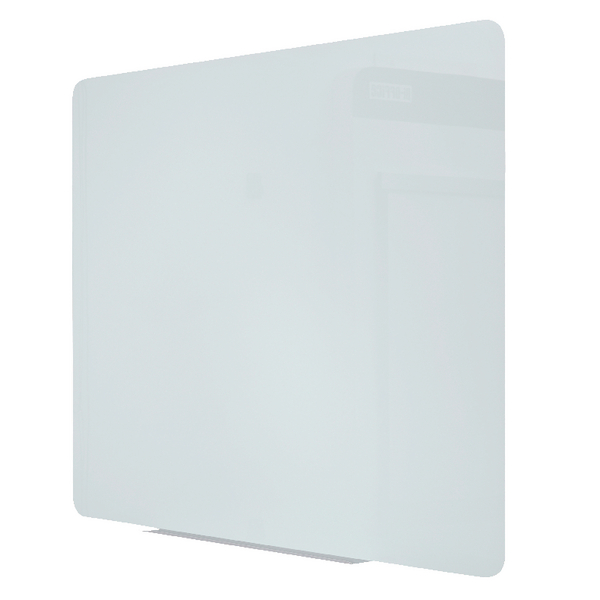 Bi-Office Magnetic Glass Drywipe Board 1200x900mm GL080101 | BQ11302