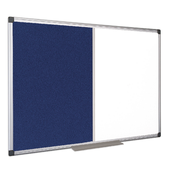 Bi-Office Combination Magnetic and Felt Board 900x600mm XA0322170 | BQ26322