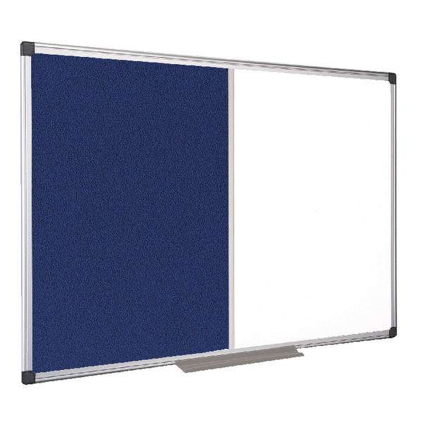 Bi-Office Combination Magnetic and Felt Board 1200x900mm XA0522170 | BQ26522