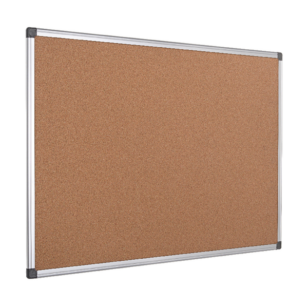 Bi-Office Cork Board 2400x1200 Alum Frame | BQ42217