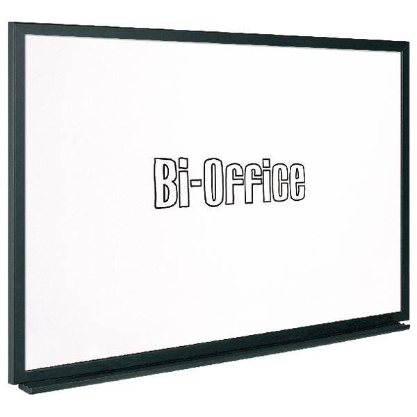 Bi-Office Black Framed Drywipe Board 600x450mm MB0400169   BQ46040