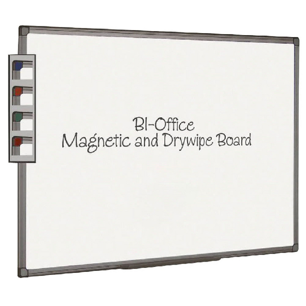 Bi-Office Aluminium Finish Magnetic Board 2400x1200mm MB1406186 | BQ46069