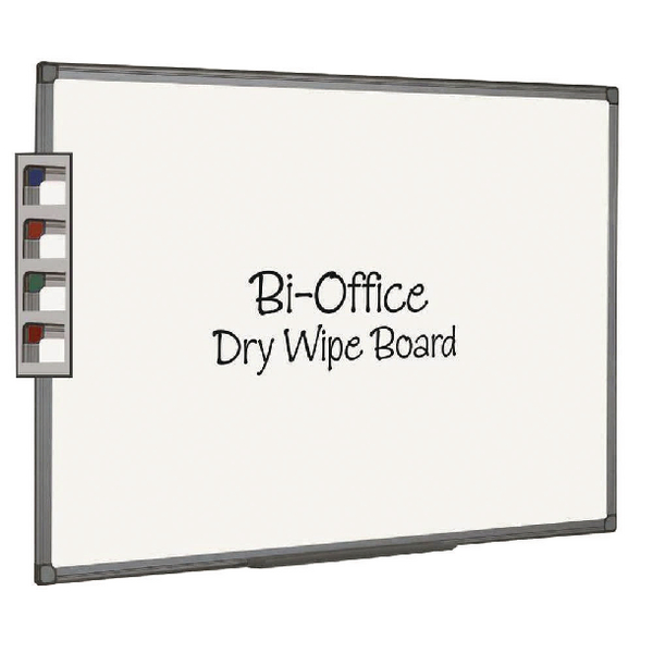 Bi-Office Aluminium Finish Drywipe Board 1200x900mm MB1412186 | BQ46141