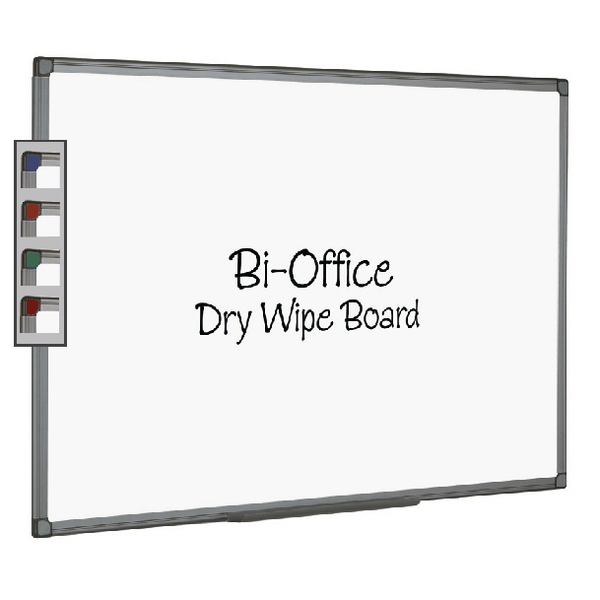 Bi-Office Aluminium Finish 900x600mm Drywipe Board MB0712186 | BQ46218