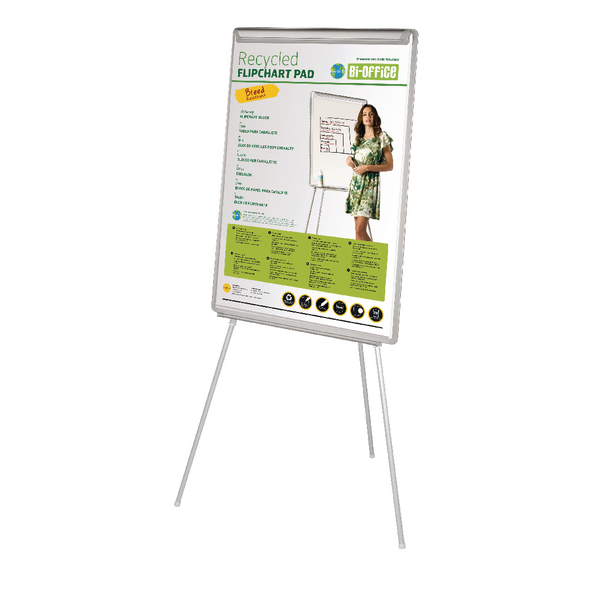 Bi-Office White Earth-It Flipchart Easel EA4676995 | BQ50083