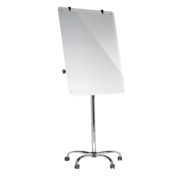 Bi-Office Magnetic Glass Mobile Easel W700xH1000mm GEA4850116 | BQ50850