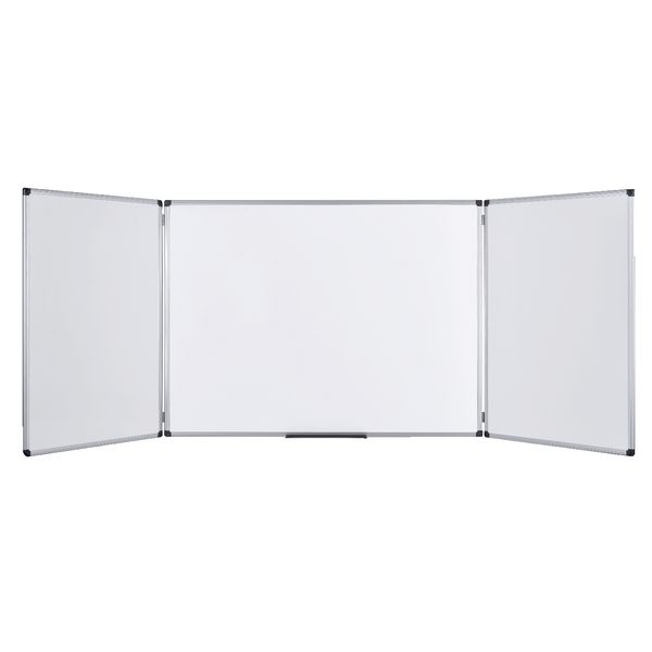 Bi-Office Trio Board 1200x900mm Non Magnetic Dry Erase TR02010302170 | BQ51221