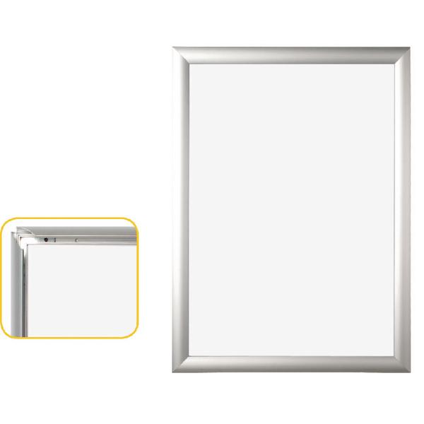 Bi-Office Snap Frame A4 Aluminium Frame VT720415370 | BQ52204