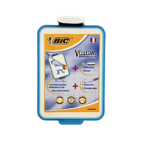 Bic Velleda 190x260mm Blue Drywipe Board 841360 | CN218