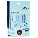 Durable Badgemaker 200 Inserts 54x90mm 1455/02 (Pack of 200) | DB14055