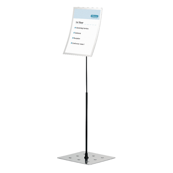 Durable Duraview Stand A3 Silver 498223 | DB40651