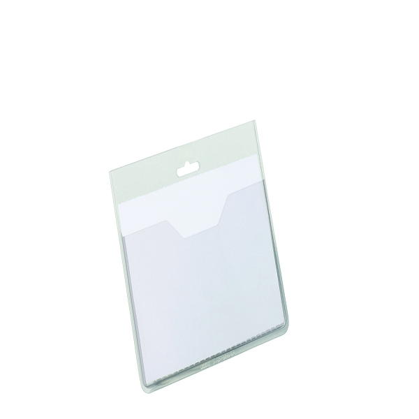 Durable Visitor Badge without Clip (Pack of 20) 8136/19 | DB80027