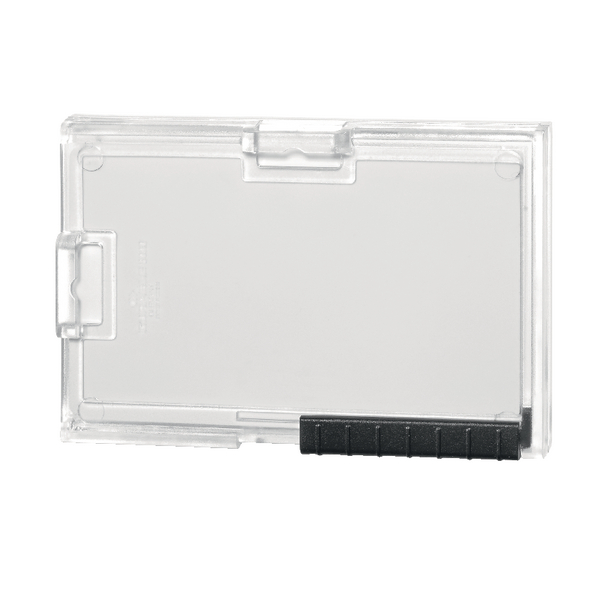 Durable Card Holder Pushbox Trio Transparent 892019 | DB80879