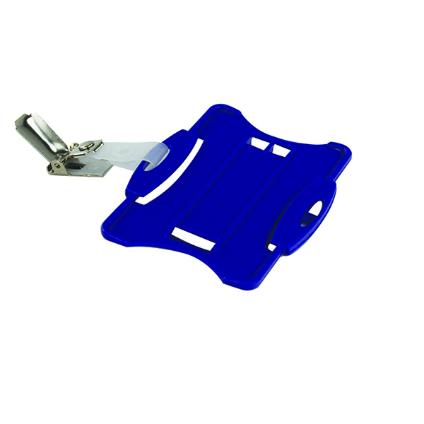 Durable Blue Security Pass Holder (Pack of 25) 8118/06 | DB90942