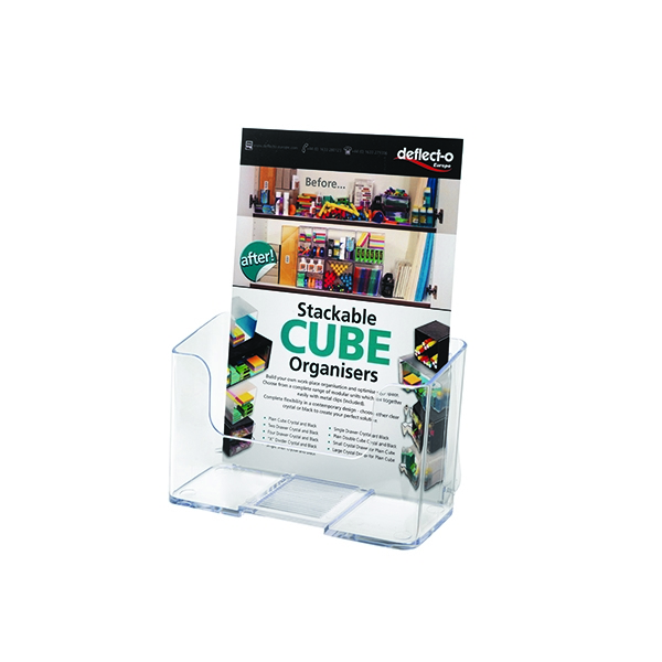 Deflecto A5 Clear Literature Holder 74901 | DF74901