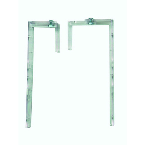 Deflecto Literature Wall File Brackets (Pack of 2) DEOPBKTYT | DF76001