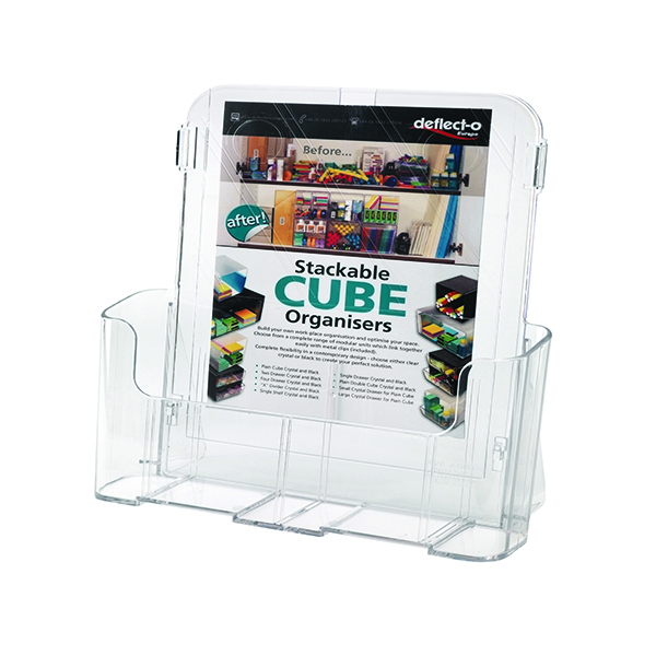 Deflecto A4 Clear Literature Holder 78001 | DF78001