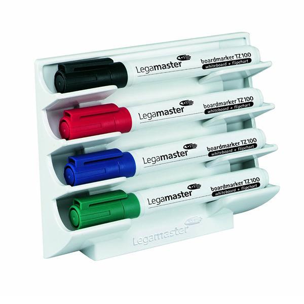 Legamaster White Magnetic Marker Holder 7-1220-00   ED02838