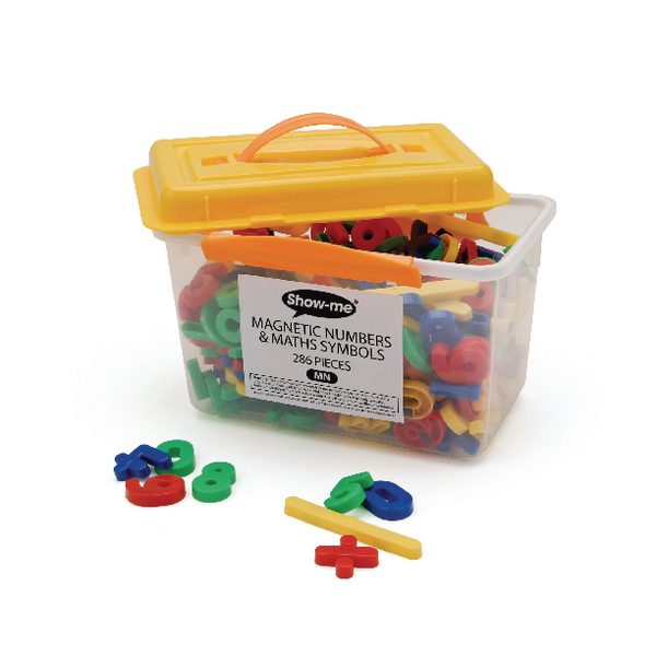 Show-me Magnetic Maths Symbols and Numbers (Pack of 286) MN | EG60255