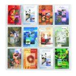 Safco Reveal 12xA5 Pocket Clear Display 5610CL   GU56100