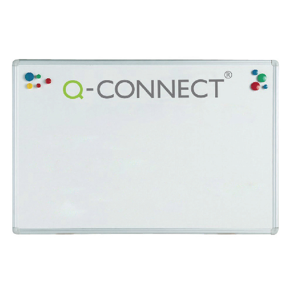 Q-Connect Aluminium Magnetic Whiteboard 900x600mm KF01079 | KF01079