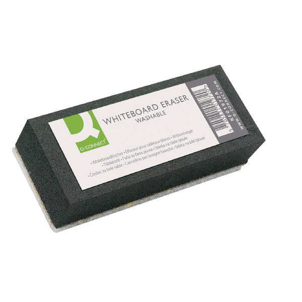 Q-Connect Drywipe Eraser Washable KF01972   KF01972