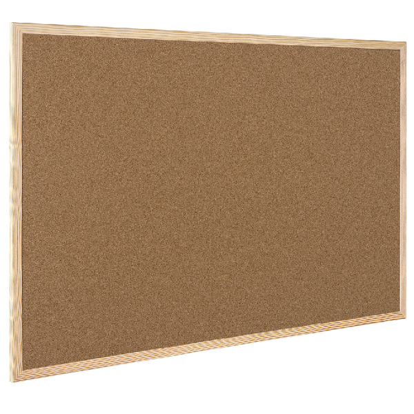 Q-Connect Cork Board Wooden Frame 600x900mm KF03567 | KF03567