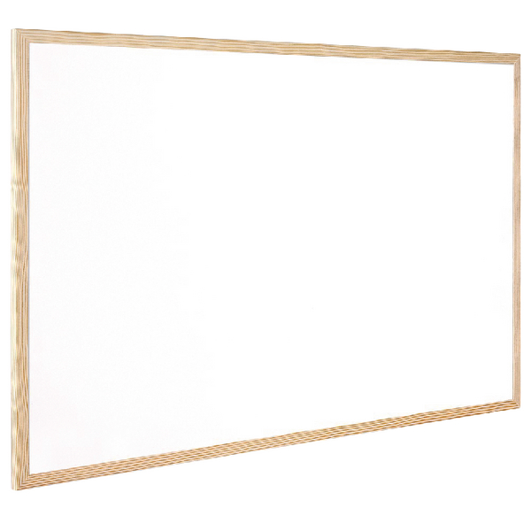 Q-Connect Wooden Frame Whiteboard 400x600mm KF03570 | KF03570