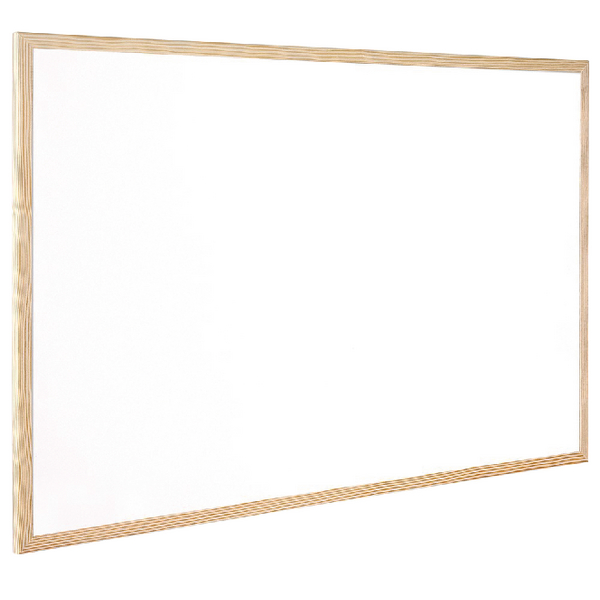 Q-Connect Wooden Frame Whiteboard 900x1200mm KF03572 | KF03572