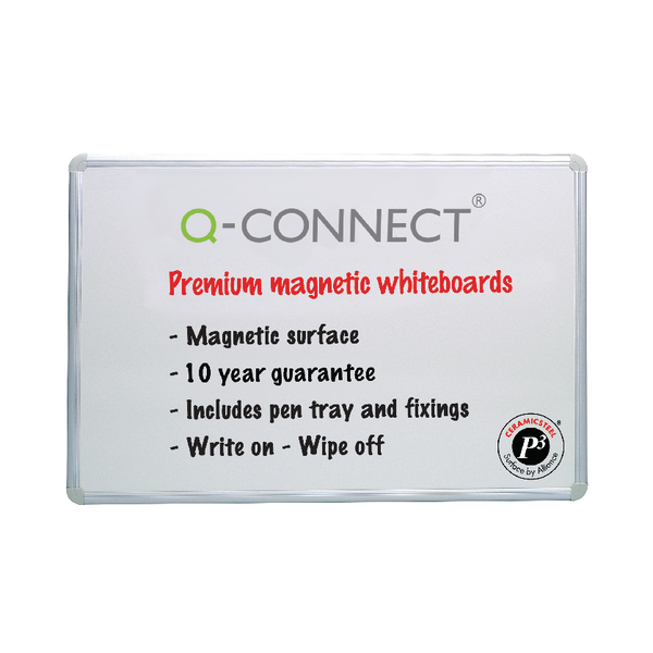 Q-Connect Magnetic Drywipe Board 900x600mm KF04145 | KF04145