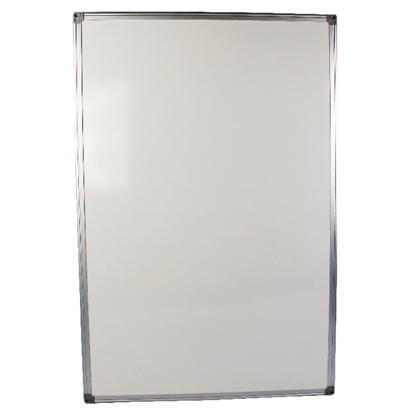 Q-Connect Aluminium Frame 900x600mm Whiteboard 54034621 KF37015 | KF37015
