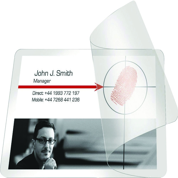 Pelltech Self-Laminating Cards 54x86mm (Pack of 100) PLG25230 | LX25230