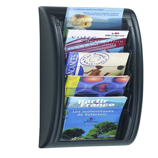 Fast Paper Black Quick Fit A5 Wall Display System F406301 | MF20364