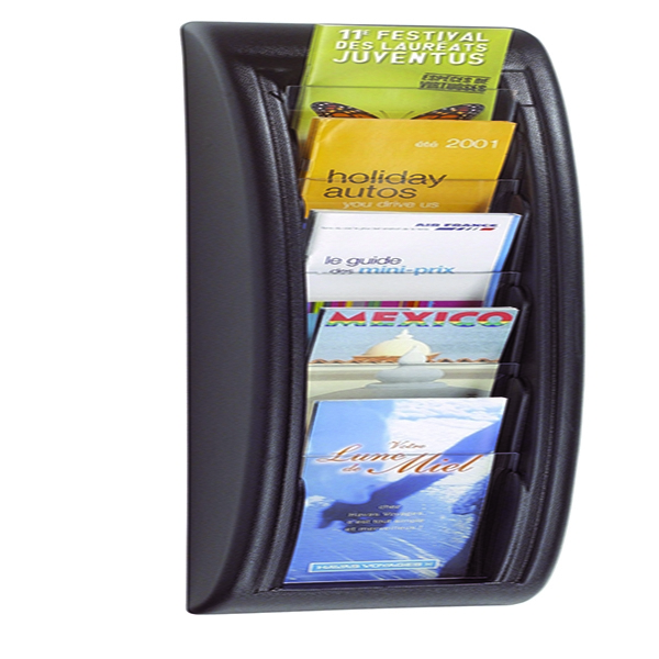 Fast Paper Quick Fit Wall Display System 1/3XA4/Dl Black F406201 | MF20370