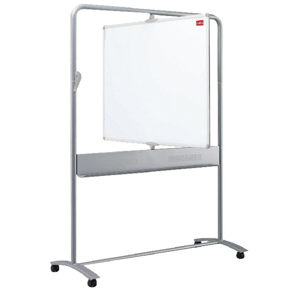 Nobo Mobile Steel Magnetic Vertical Whiteboard 900x1200mm 1901030 | NB11828