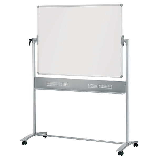 Nobo Mobile Steel Magnetic Horizontal Whiteboard 900x1200mm 1901029 | NB11829