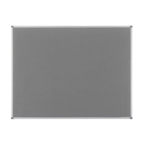 Nobo Grey Felt 1800x1200mm Classic Noticeboard 1900913   NB14600