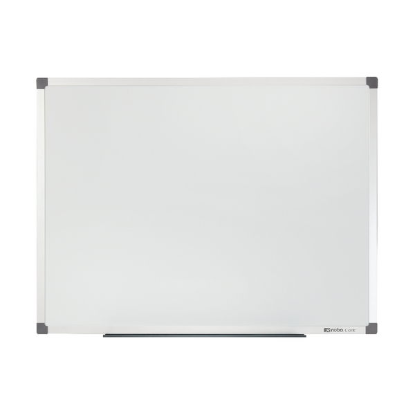 Nobo Classic Magnetic Painted Steel Whiteboard 900x600mm 1902642 | NB28603